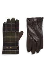 Barbour Classic Newbrough Tartan Gloves