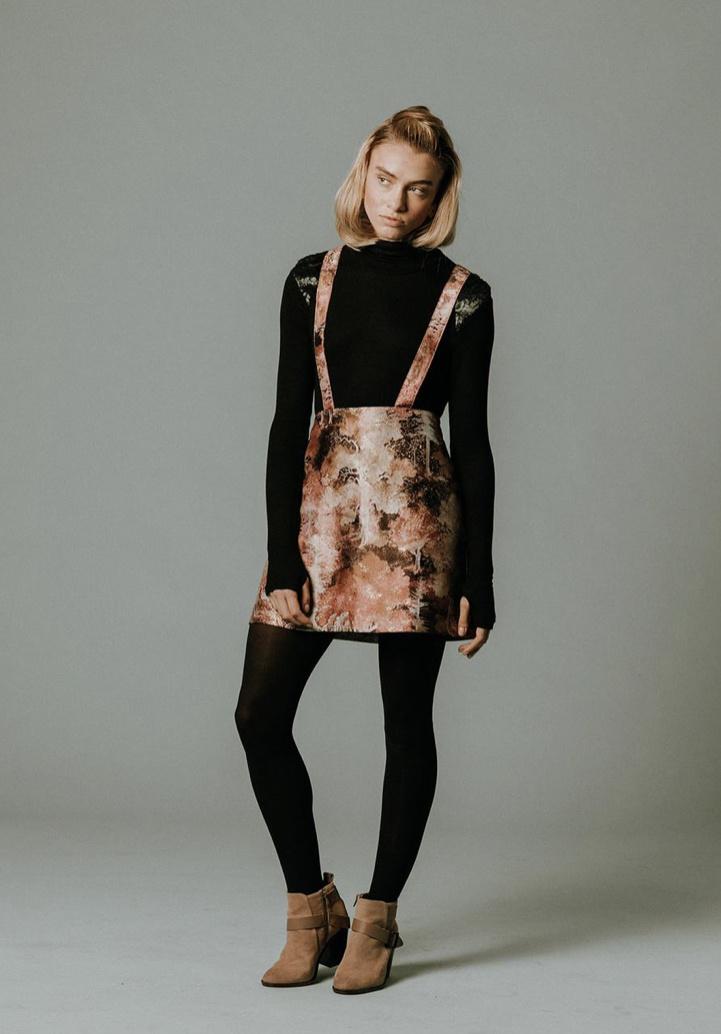 Milk Handmade Chicago Milk Mod Lederhosen Skirt
