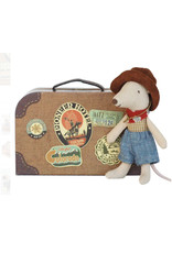 Maileg Mouse Cowboys In Metal Suitcase