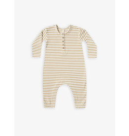 Quincy Mae Longsleeve Honey Jumpsuit