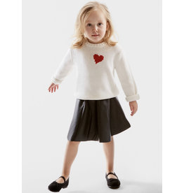 525 America Kids Heart Sweater
