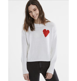 525 America Heart Cotton Sweater
