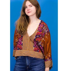 Free People Mix N Match Blouse