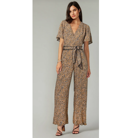 Greylin Neve Cross Front Jumpsuit