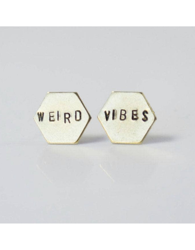 Grey Theory Mill Weird Vibes Earring