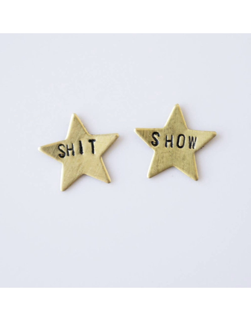 Grey Theory Mill Shit Show Earrings