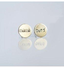 Grey Theory Mill Mama Bird Earring