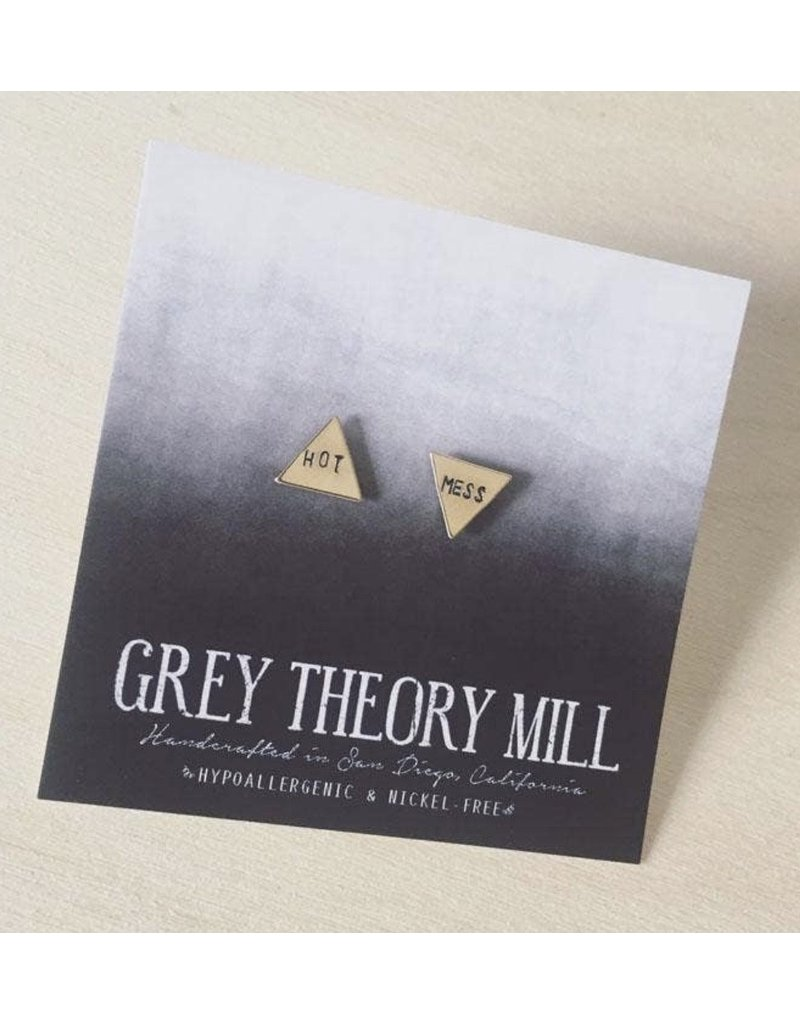 Grey Theory Mill Hot Mess Earring