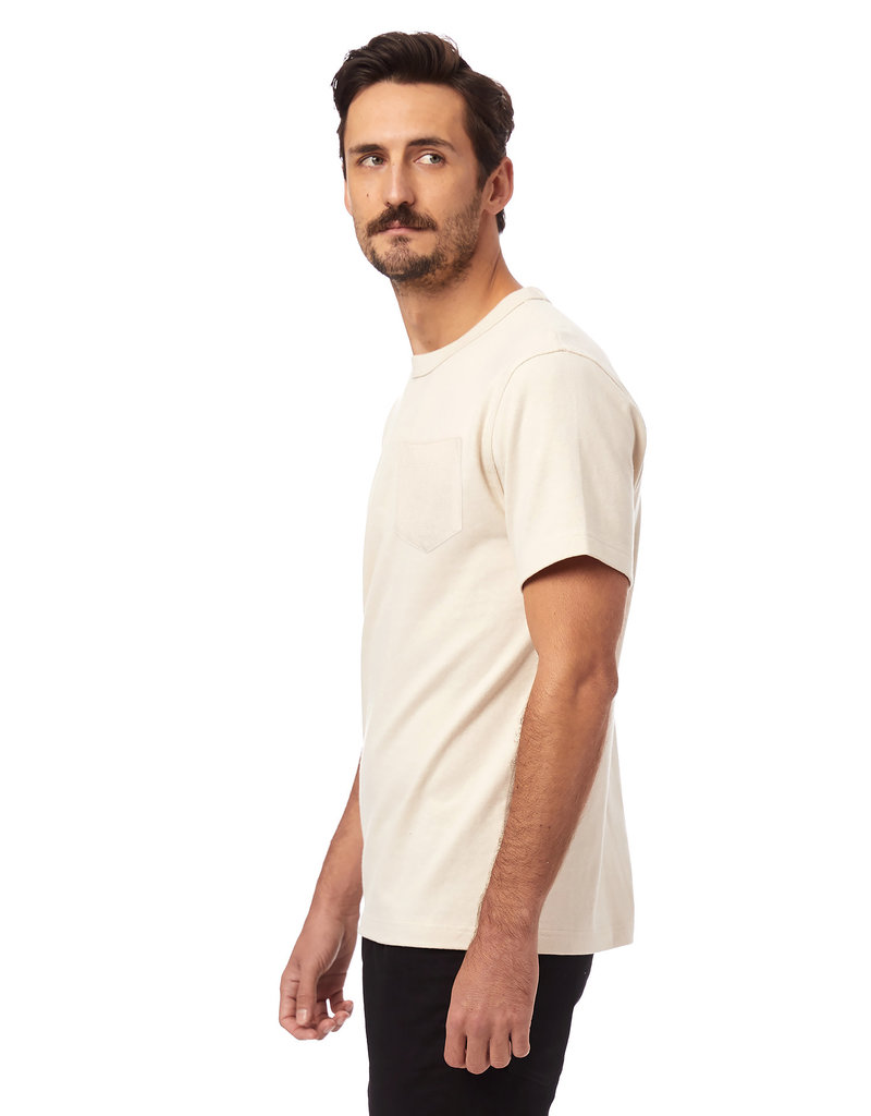Alternative Apparel Recycled Cotton Tee Ecru
