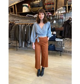 FRNCH Woven Brick Pants