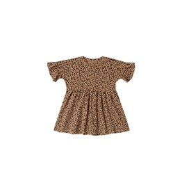 Rylee and Cru Kid Cheetah Babydoll Dress