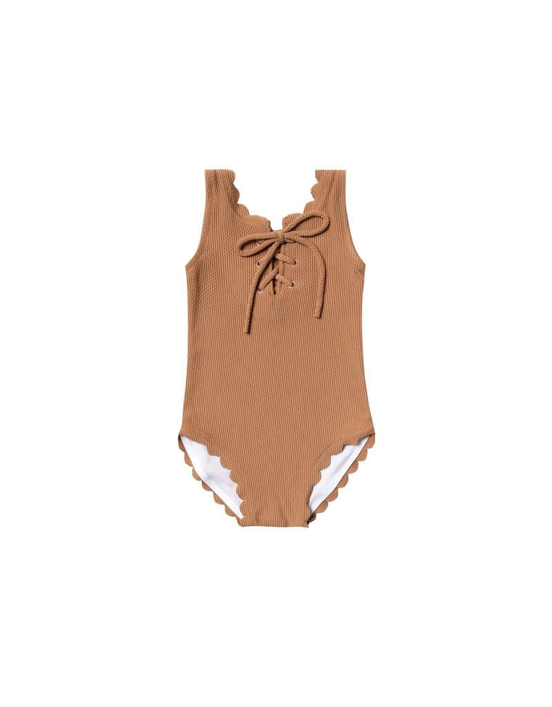 Rylee and Cru Kid Laced Bronze Onepiece