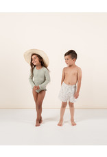 Rylee and Cru Kid Terrazzo Swim Trunk