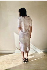 525 America Tie Dye Dress Electric Lilac Multi