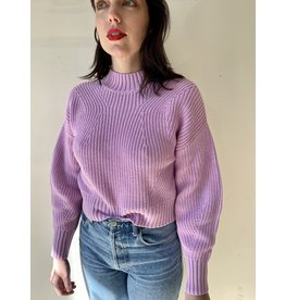 525 America High Crew Transfer Pullover Electric Lilac