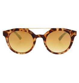 Freyrs Eyewear Collins Tortoise Round Sunglasses