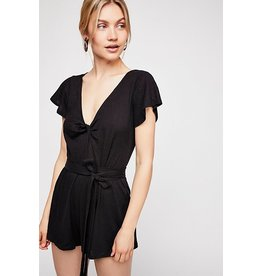 Free People Ballerina Wrapped Onepiece