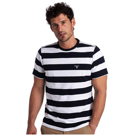 Barbour Navy Beach Stripe Tee