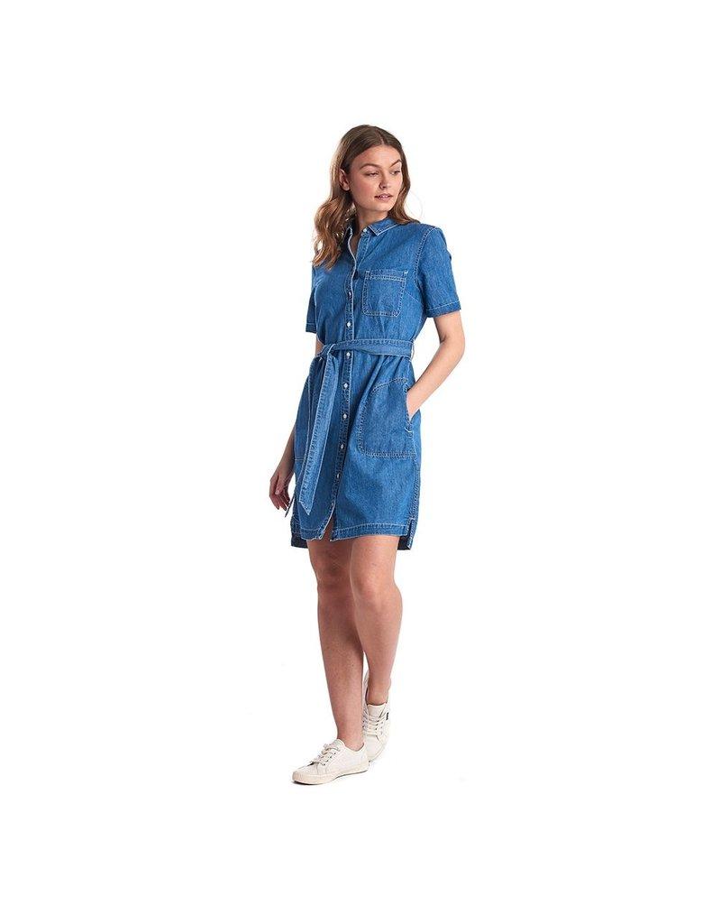 Barbour Seaboard Denim Dress
