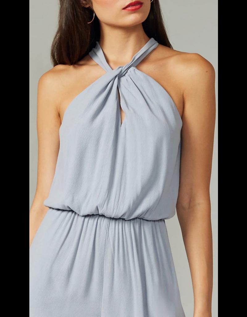 Greylin Greylin Phoebe Textured Jumpsuit Coastal Blue
