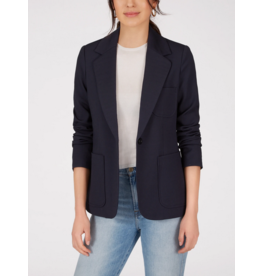 525 America Soft Tailored Blazer in Navy