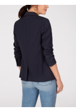 525 America Soft Tailored Blazer in Navy