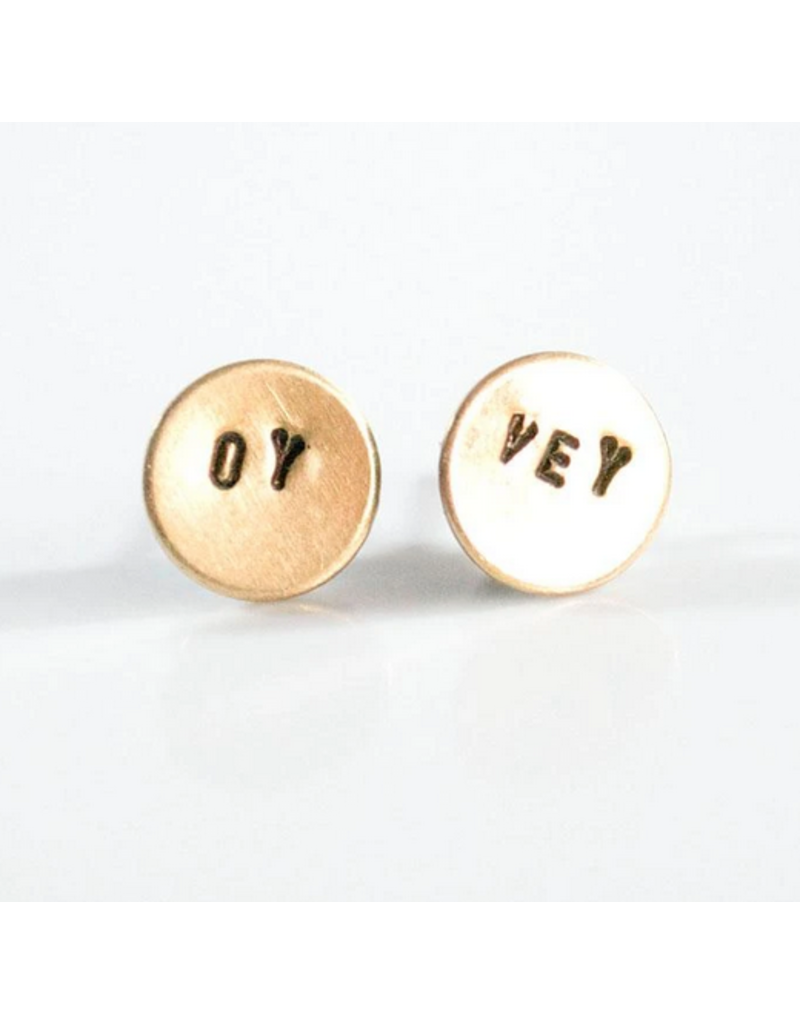 Grey Theory Mill Oy Vey Earring