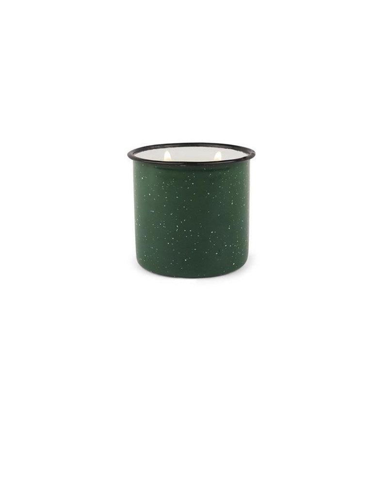 Paddywax Alpine Enamelware Candle 9.5 OZ Evergreen & Embers