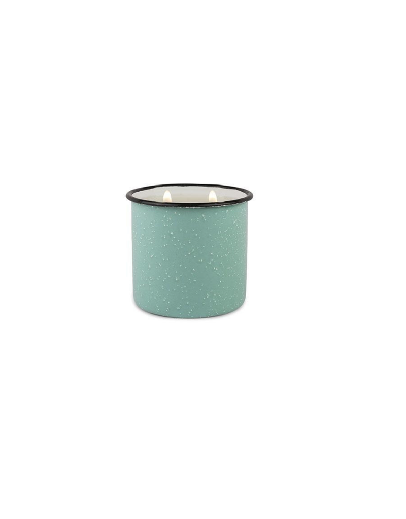 Paddywax Alpine Enamelware Candle 9.5 OZ Fresh Air & Sea Salt