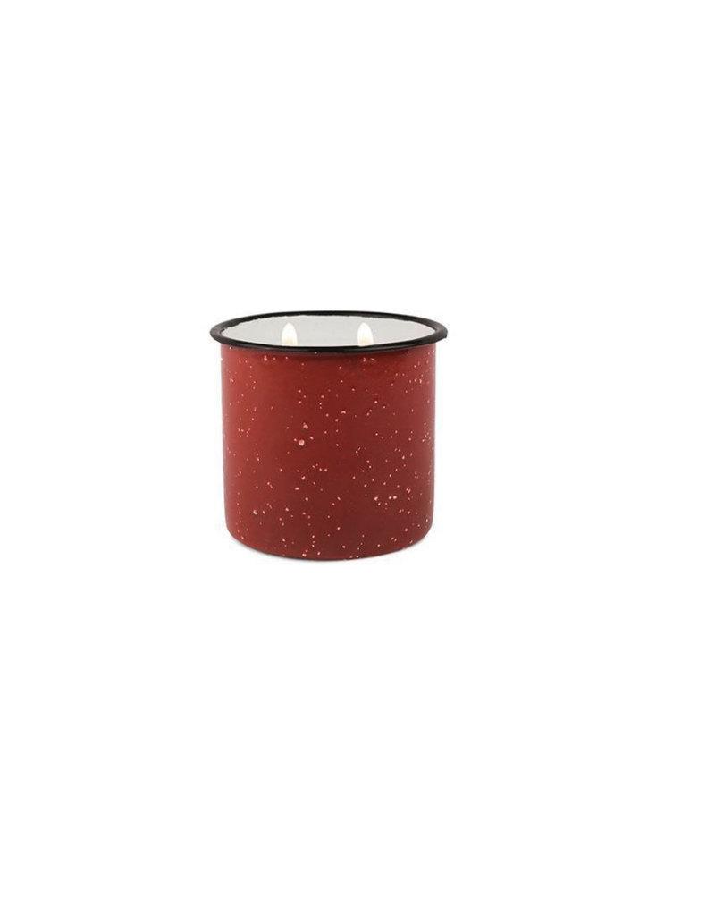 Paddywax Alpine Enamelware Candle 9.5 OZ Pomegranate & Spruce