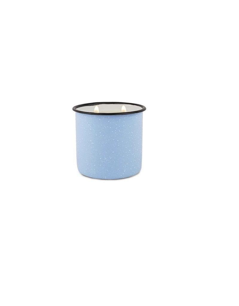 Paddywax Alpine Enamelware Candle 9.5 OZ Wild Fig & Cedar