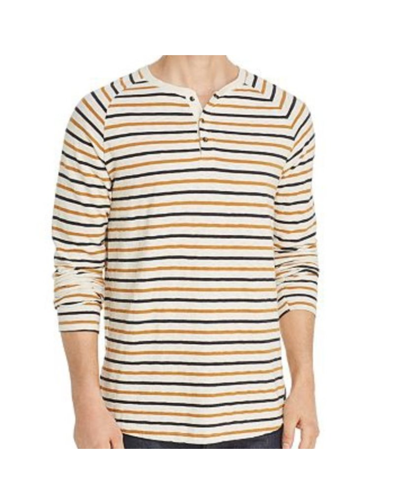 Scotch & Soda Nice To See You Long Sleeve Henley
