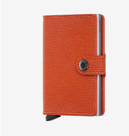 Secrid Secrid Miniwallet - Specialty Leather Crisple Orange