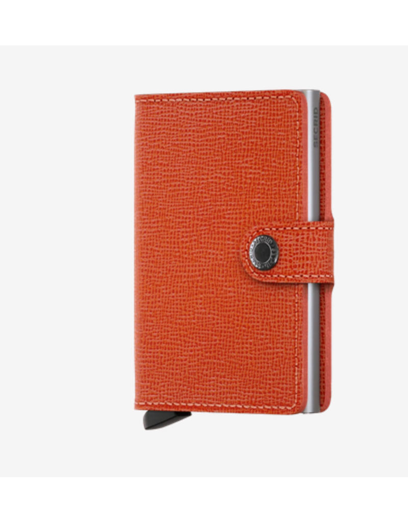Secrid Secrid Miniwallet - Specialty Leather Crisple Orange