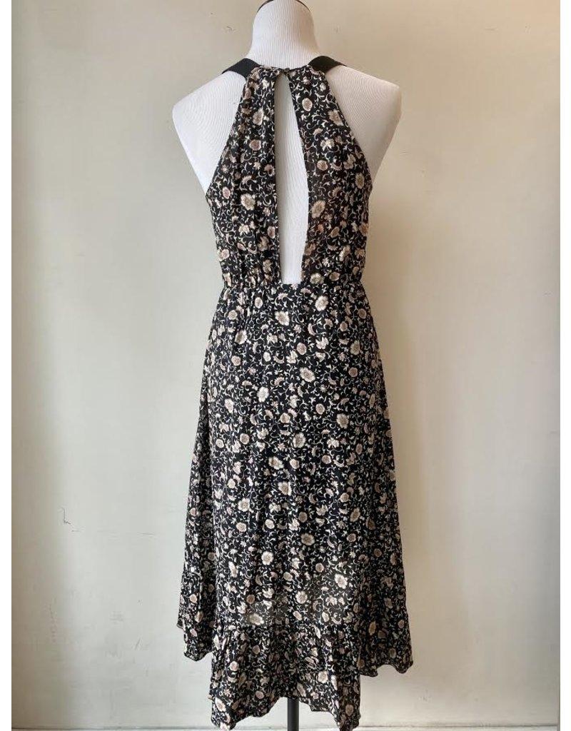 Scotch & Soda Cotton Ruffle Printed Summer Dress