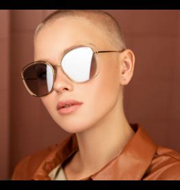 Freyrs Eyewear Golden Girl Gold/ Silver Sunglasses