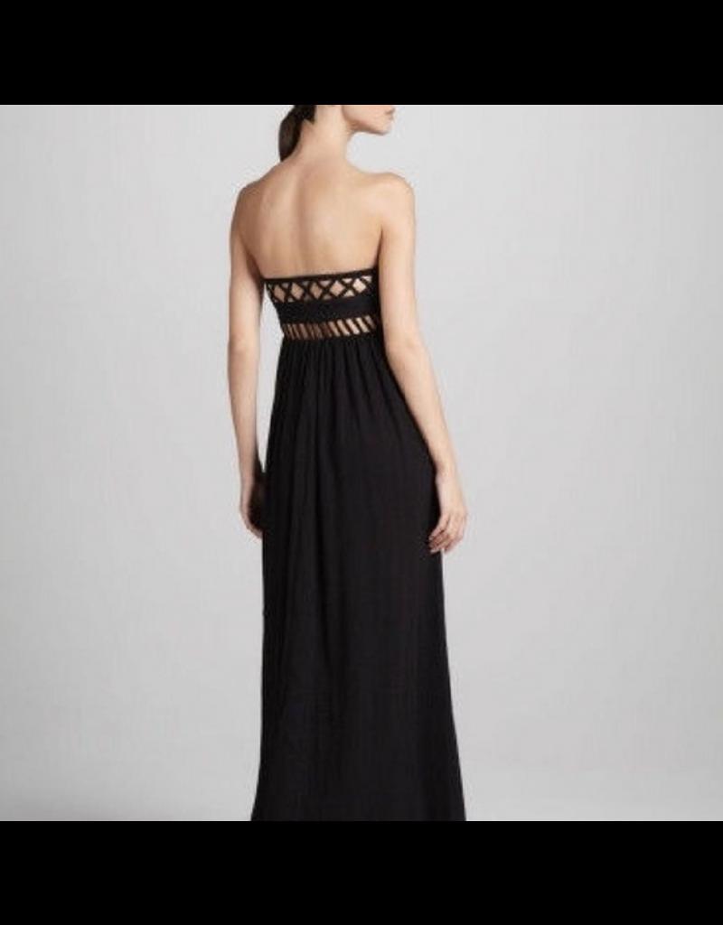 jennifer detrich smith Mara Hoffman Frida Lattice Maxi Dress Size 10