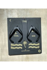 Scotch & Soda Poolside Punch Out Flip Flops and Key Ring