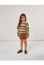 Rylee and Cru Kids Cinnamon Corduroy Skirt