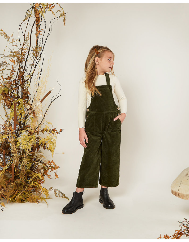 Rylee and Cru Kids Forest Corduroy Overalls