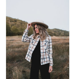 Rylee and Cru Julian Plaid Jacket
