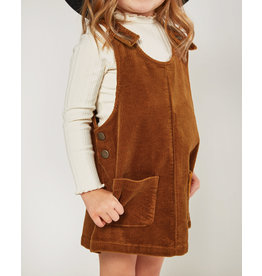 Rylee and Cru Kids Cinnamon Corduroy Dress