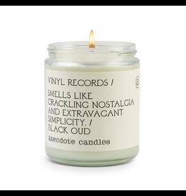 Anecdote Candles Vinal Records 7.8 Oz Candle