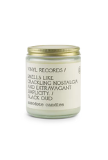 Anecdote Candles Vinal Records 7.8 Oz Candle