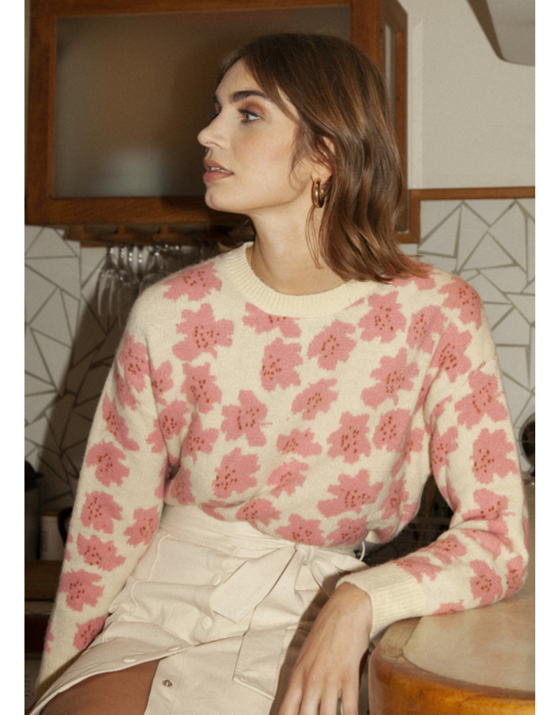 FRNCH Geranium Pink Knit