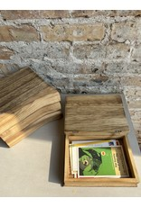 Creative Co-Op Wood Book Box