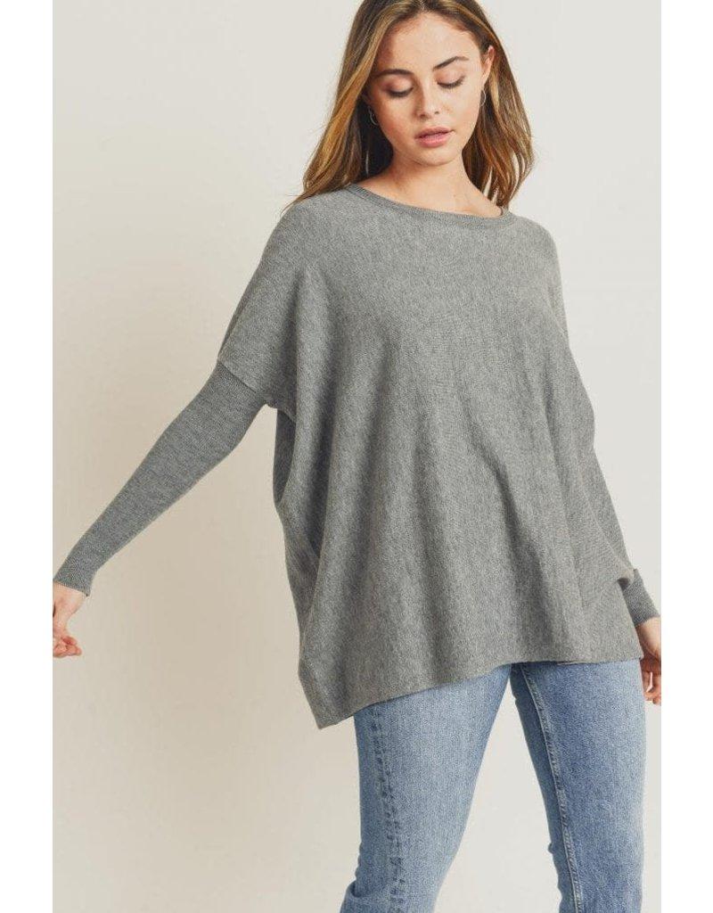 Tea N Rose Easy Like Sunday Morning Sweater