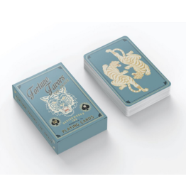 design works Fortune Favors The Brave Playing Cards