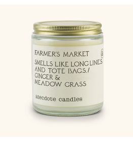 Anecdote Candles Farmers Market 7.8 Oz Candle