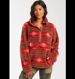 Billabong Switchback Chestnut Pullover Fleece